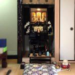 モダン金仏壇「花菱」をセミオーダーで製作しました。甲賀市のお客様へ