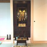 家の建て替えに伴う紫檀系お仏壇への買い替えと仏像の修理。近江八幡市のお客様。