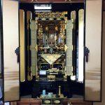 真宗大谷派(お東)の金仏壇を設置させていただきました。滋賀県甲良町のお客様