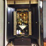 真宗大谷派(お東)のお仏壇をお買い替えいただきました。滋賀県長浜市にて