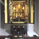 50年ほど前に作られた大阪仏壇のお洗濯(修復)が完了しました。融通念仏宗、大阪府松原市のお客様