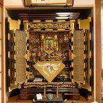 45年前にご購入いただいたお仏壇の洗浄(一部修復)。輝きを取り戻した、ご両親の思いを受け継いだお仏壇。滋賀県彦根市のお客様
