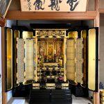 90年ほど前のお仏壇の洗浄(一部修復)及び部分復元修理等 滋賀県彦根市のお客様