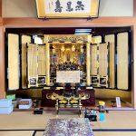 4尺3方開き、伝統的工芸品のお仏壇。蒔絵や彫刻をご希望に合わせて製造。融通念仏宗、東大阪市のお客様